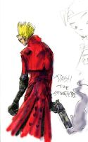 Sketched Vash by corvid