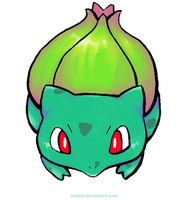 Bulbasaur by Hadeki