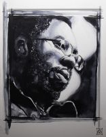 Curtis Mayfield by Zsil-works