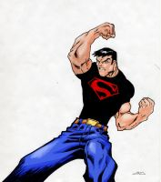 Superboy by Cronion