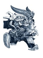 GREAT HELM by EricCanete