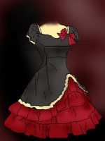 Gothic Lolita Dress by tawnyshine