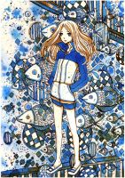 arakawa under the bridge by koyamori