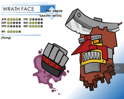 DSM: Wrath Face by The-Knick