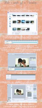 Make a simple gif in Photoshop by myonlyloverob