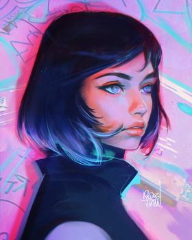 Ayy by rossdraws