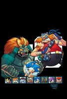 Sonic Universe 40 cover by sdowner