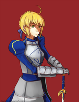 Saber by Maxraver