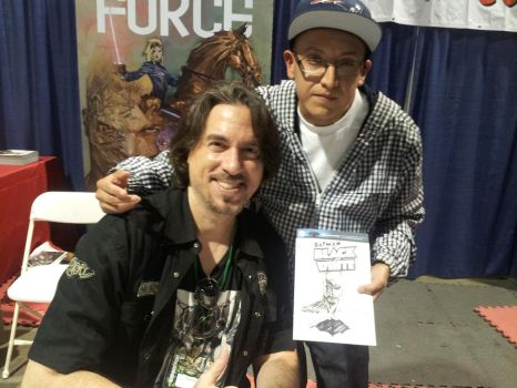 Me and Marc Silvestri @Long Beach Con 2013 by SWAVE18