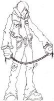 Leon Kennedy has a Rope by RainsOpacity