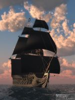 The Black Pearl by Offrench