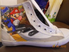 Nintendo Shoes by Frogger277