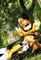 Kagamine RIN - Daughter of Evil by rolan666