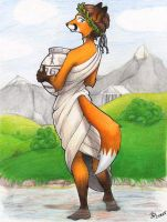 Greek Fox by nalina