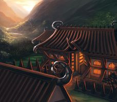 The Shadowed Estate of the Scorpion by Alayna