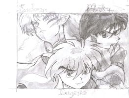 Inuyasha Guys by fatchy131