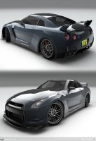 Nismo GT-R by AfroAfroguy