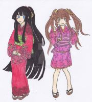 Reiko and Sumire OC by Aeiyrra-42