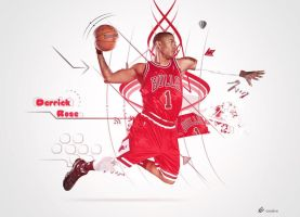 Derrick Rose by epro-creative