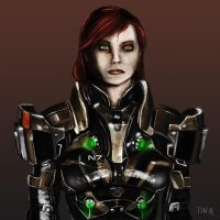 Shepard Portrait by DNA-Daenar