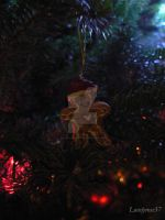 It's the Gingerbread Man by lovelyrose37