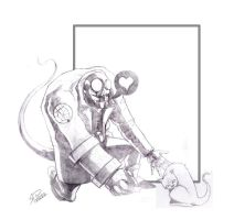Hellboy is really a bad guy by rafael-pires