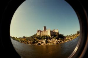 Almourol by toy-camera
