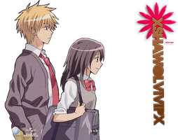 Kaichou wa Maid-sama! ~ RENDER HD by xshawolviVIPx