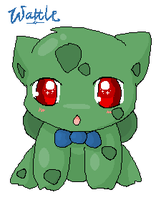 Bulbasaur - Wattle by JirachiLegend