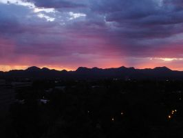 Lights out in Tucson, AZ by fatherofanartist