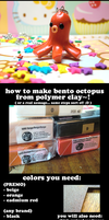 Bento Ocotpus CLAY Tutorial :D by GrandmaThunderpants