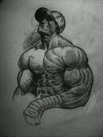 muscle man by lurkzie