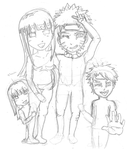 Naurhina Family PIcture Sketch by Franntastic16