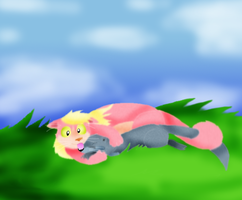 Lovingly Time in the Fields by EvilSonic2