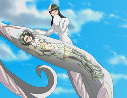 Loly Aivirrne: Arrancar Appetizer by Elmonais by Shaded-Seraphim