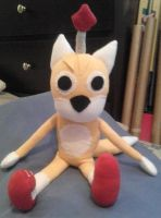 Tails Doll Plush 1 by IrashiRyuu