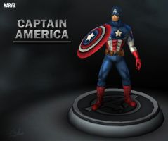 Marvel - Captain America by davislim
