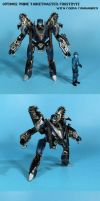 Prime Targetmaster: Frostbyte with Cobra Commander by Unicron9