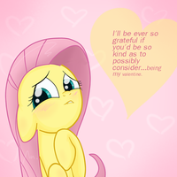 shy valentine by Isa-Isa-Chan