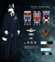 Victor Anderson (Reference Sheet) by J-Harper