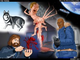 Fav 1982 Films - The Thing. by Atariboy2600