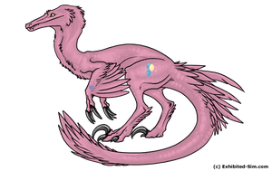 My Little Raptor- Pinky Pie by Natural--20