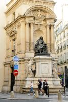 Moliere remembered in Paris by wildplaces