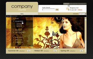 Design for clothing site by alex-tanya