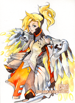 Overwatch - Mercy by CloudN