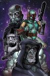 Star Wars Villans by mikegoesgeek