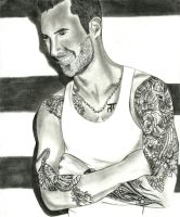 Adam Levine by UnexpectedFantasy
