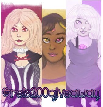 200 FOLLOWERS GIVEAWAY by ReiReiKami