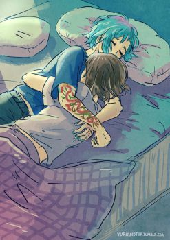 Life is Strange - Max and Chloe - cuddles by Maarika