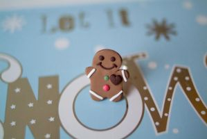 Gingerbread Man Ring by PoisonedAppleAcc